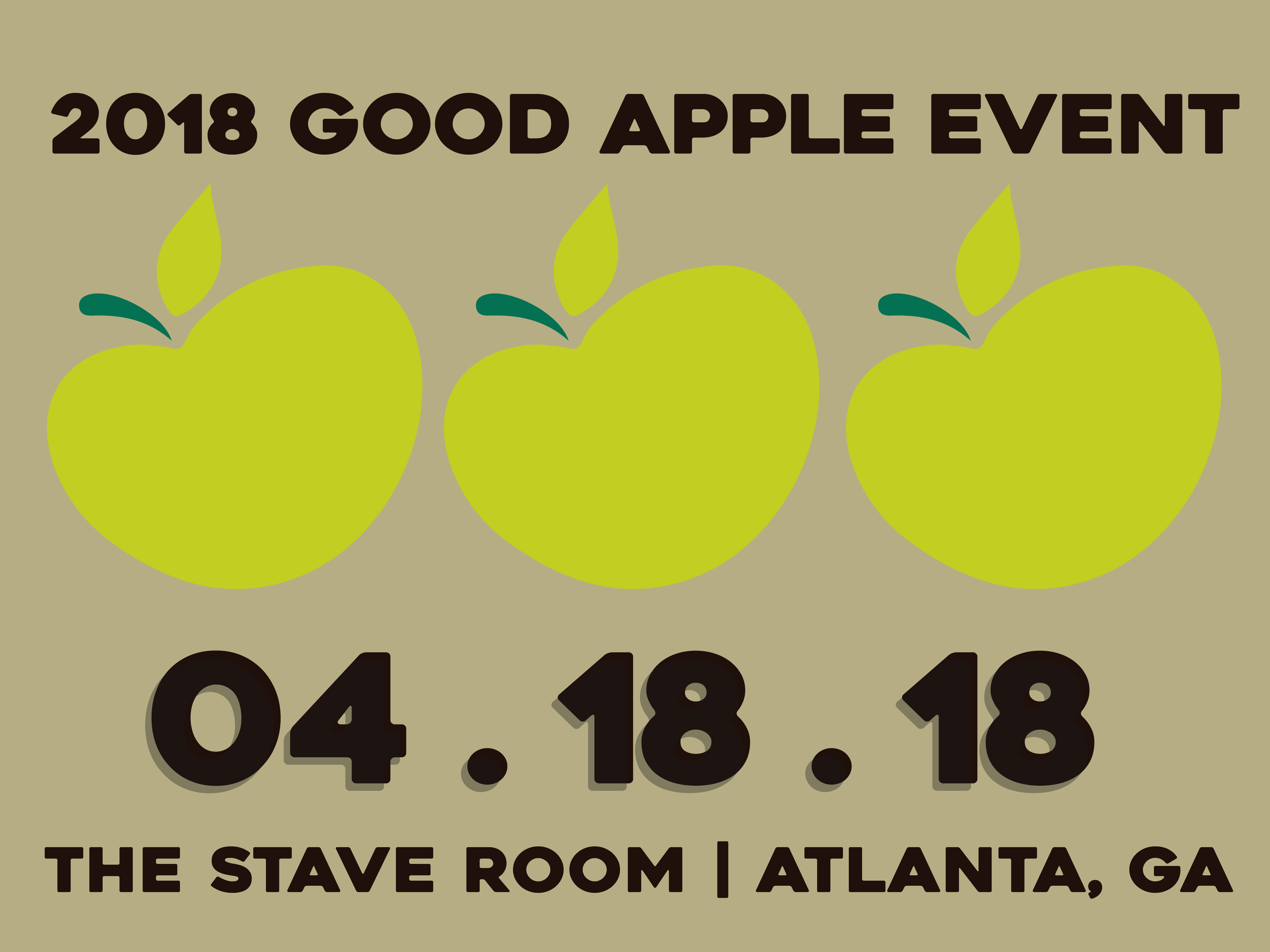 Save the Date | Good Apple Event
